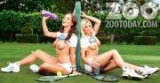 ����� �����, ���� 122. Daisy Watts & Amy Green - Sexy Wimbledon July 2012 LQ Tags, foto 122