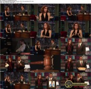 Rose Byrne on Late Night 7/9/12