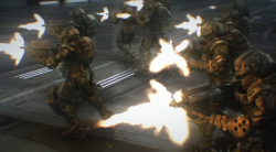 Starship Troopers: Invasion (2012) PL.DVDRip.XViD-4CT Lektor  PL +rmvb