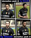 FIFA 12 Juventus Faces Pack #2 by SieL23